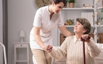 A Stormy Process as a Caregivers to Elderly